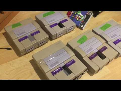 Fixing Ebay Junk - 6 SNES - Part 1 - Unboxing and Testing