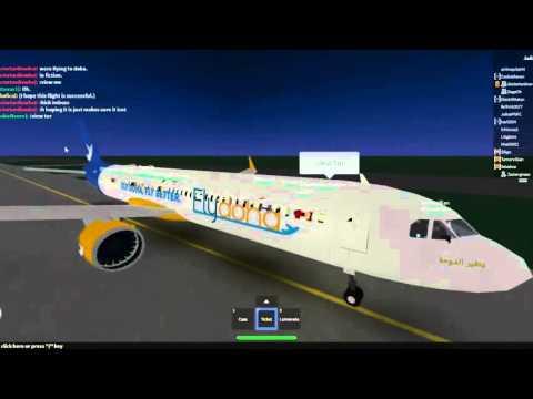 ROBLOX FlyDoha A321NEO Flight
