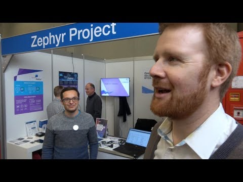 Zephyr Project with Linaro, Open Source Foundries, Nordic, Intel, Bluetooth Mesh demos