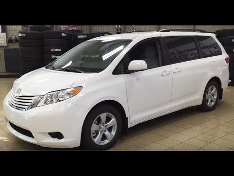 2016 Toyota Sienna Le Fwd Review