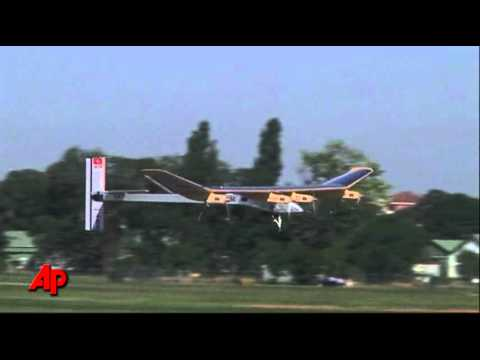 New Solar Plane Can Fly Day or Night