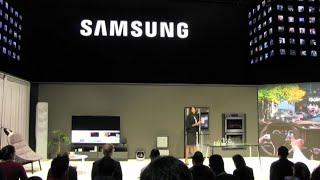 Samsung al Ces presenta lo schermo componibile a Micro Led