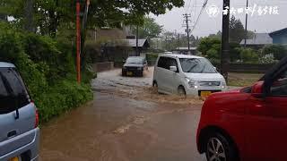 観測史上最大、秋田市の24時間雨量 thumbnail