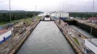 In and out of the Panama Canal