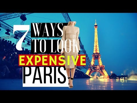 HOW TO LOOK EXPENSIVE IN PARIS   WOMEN LUXURY FASHION