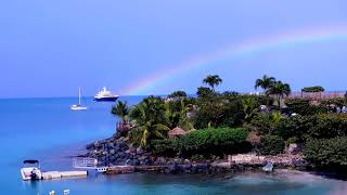 A Rainbow Over St Martin