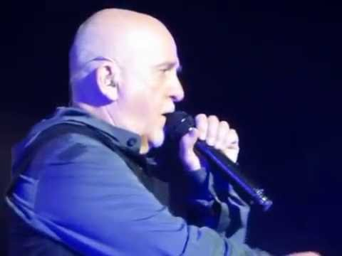 Rare version of Peter Gabriel singing