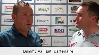 Interview d'après match de notre partenaire Djimmy Vaillant