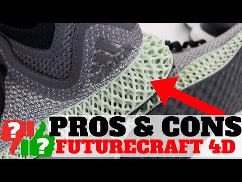 1 Month AFTER Wearing adidas FUTURECRAFT 4D! PROS & CONS!