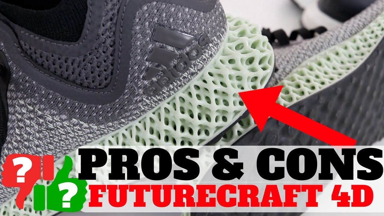 competitive price 0dc42 e4bf9 1 Month AFTER Wearing adidas FUTURECRAFT 4D! PROS  CONS!