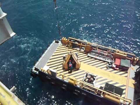 Boat transport for crew change in offshore