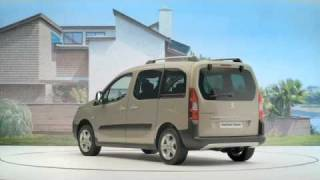 2009 PEUGEOT PARTNER TEPEE Videos