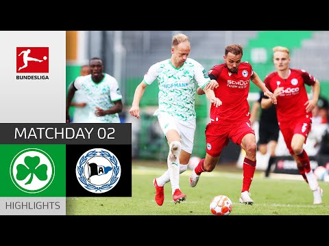 Greuther Furth Arminia Bielefeld Goals And Highlights