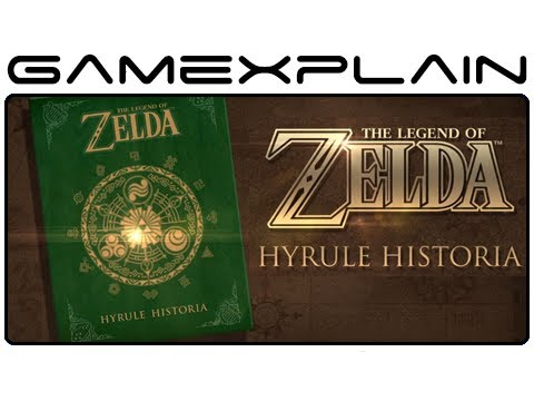 The Legend Of Zelda: Hyrule Historia Book Overview