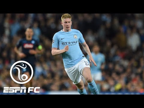 Is Kevin De Bruyne on Lionel Messi or Cristiano Ronaldo
