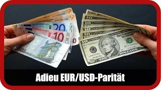 Marktanalyst Salcher: Adieu EUR/USD-Parität
