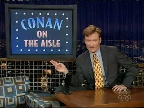 Late Night 'Conan on the Aisle 72304