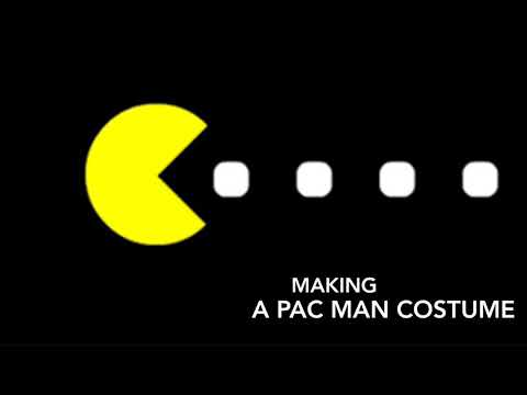 Making A Pac Man Costume