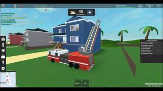 Roblox:UD westover islands i am a firefighter!