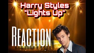 Harry Styles - Lights Up | Reaction by #MacTheReactor