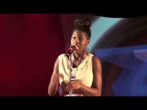 NO LOOKING BACK - Damita Haddon cover version performed at TeenStar