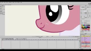 Налегаем на шаблон или первый урок Anime Studio 9