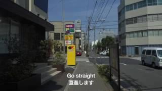 赤門会日本語学校 本校までの道案内@JR山手線日暮里駅ルート