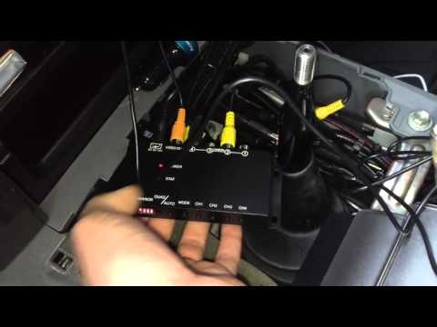 4 channel video source selector switch