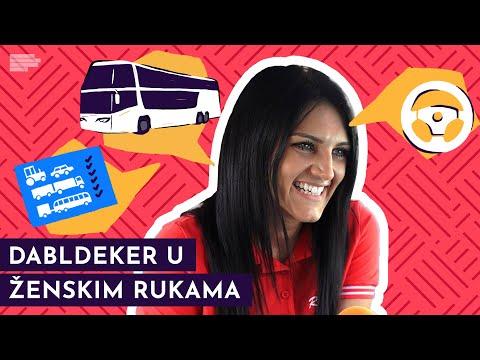 Ova lepa devojka vozi autobus DABLDEKER! | Mondo TV
