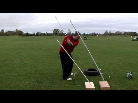 PGA coach at spawell golf centre Dublin, Improve down swing Book lesson 0872346805