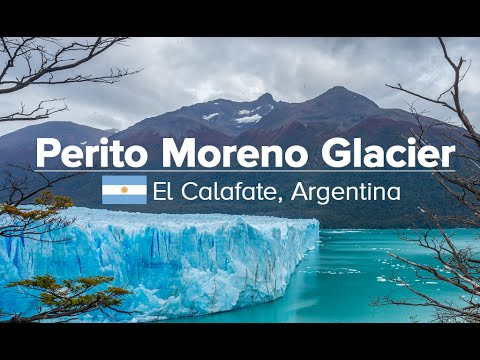 Perito Moreno Glacier in El Calafate & Pedal South (Patagonia Expedition #07)