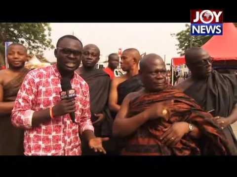 Asantehemaa's Funeral in Kumasi on Joy News (16-1-17)