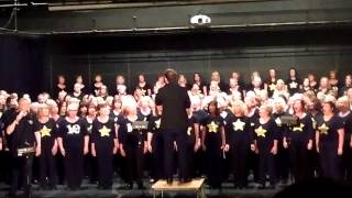 "Chester Rock Choir sings ""Fall at your Feet "" at the Birkenhead Academy"