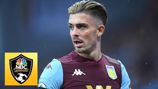 Jack Grealish gets Aston Villa back in the game against Leicester City | Premier League | NBC Sports