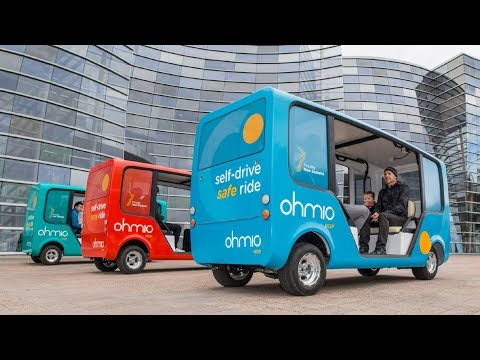 Ohmio Self Driving Shuttles and Connected Vehicles