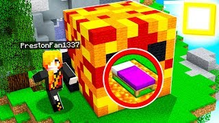 9 Year Old Fan has the ULTIMATE Bed Wars Defense! ft. Unspeakable