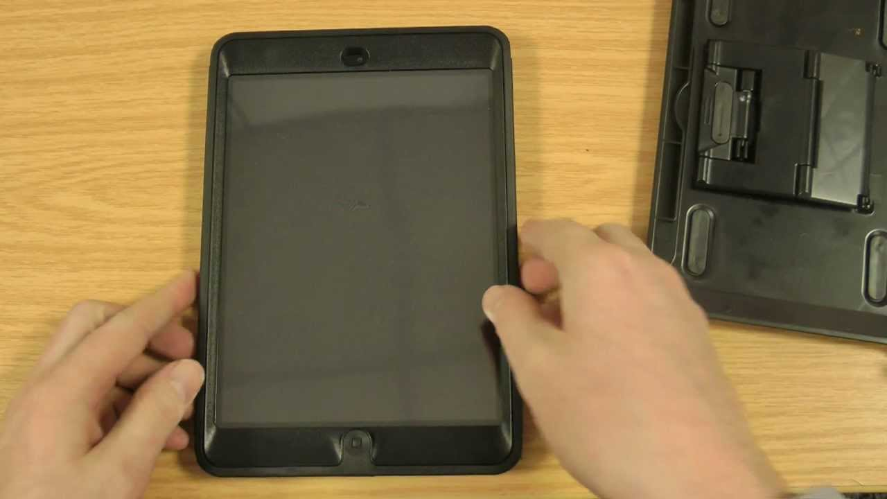 official photos 083ce b1837 Otterbox Defender iPad Mini Case Review