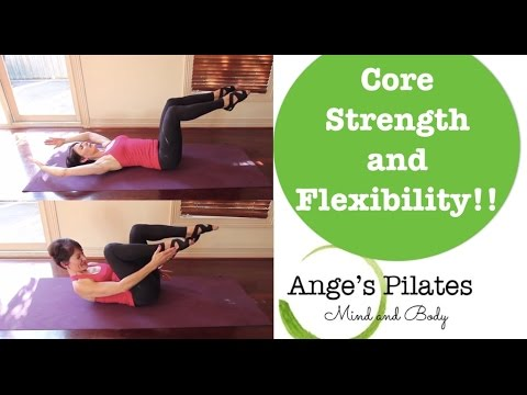 Pilates Core Strength and Flexibility 30 minute workout.
