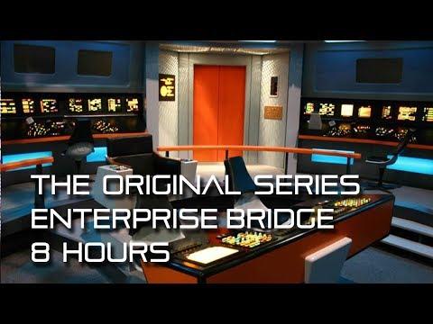 Star Trek: TOS Bridge Background Ambience **8 HOURS**  w/ quiet conversations