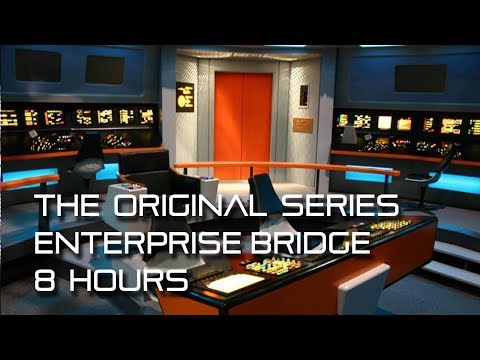 Star Trek: TOS Bridge Background Ambience **8 HOURS**  w/ quiet conversations