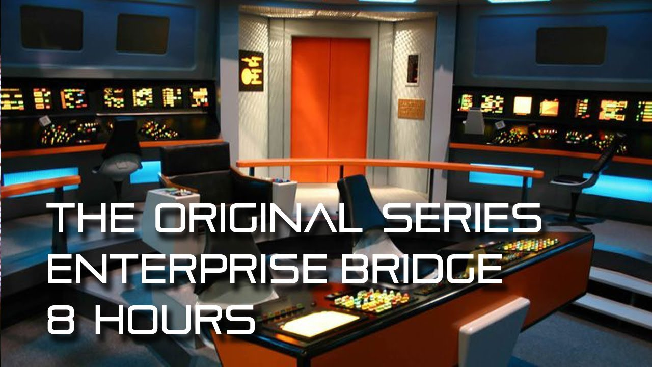 Star Trek Tos Uss Enterprise Bridge Background Ambience 8
