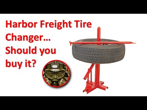 Harbor Freight Tire Changer...Does it work? Should you buy?