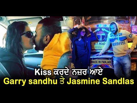 Garry Sandhu and Jasmine Sandlas caught...