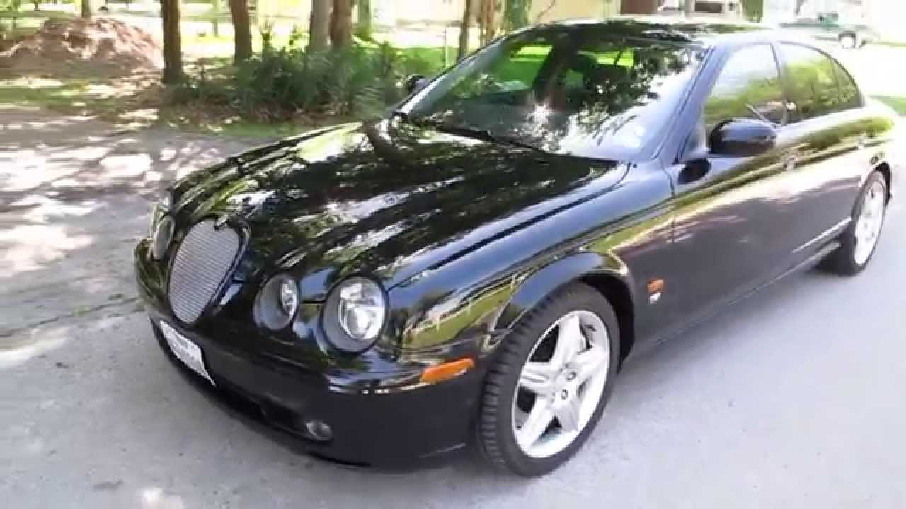 2003 Jaguar S Type R, new Michelin tires, for sale in Texas - YouTube