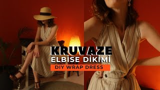 WRAP DRESS SEW   All Sewing Details   HOW TO SEW WRAP DRES
