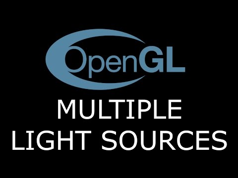 Modern OpenGL 3.0+ [LIGHTING] Tutorial 14 - Combining Directional, Point and Spot Lights
