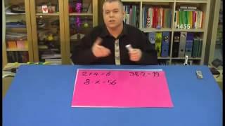 Mathematik: Gleichungen lösen durch Probieren und Rückwärts-Rechnen | Mathematik | Algebra