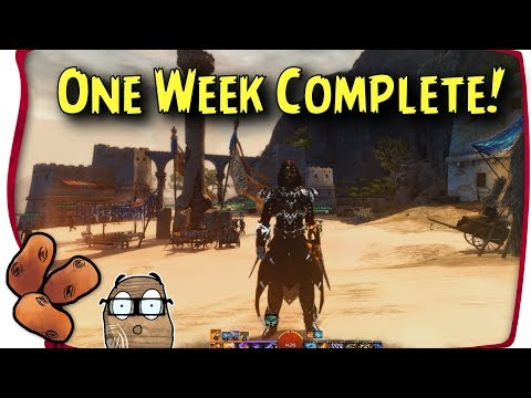 Guild Wars 2 Path of Fire - One Week In Review | What I have Left To Do & General Impressions