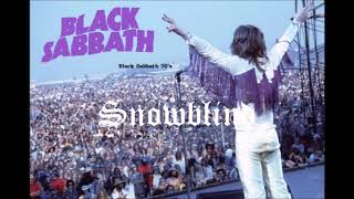 snowblind black sabbath cover 2019