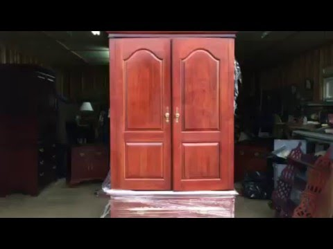 ENTERTAINMENT TV ARMOIRE Furniture Sale - Clarkesville, GA - Estate, Moving Garage Sale